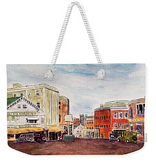 Downtown Amesbury Ma Circa 1920 Weekender Tote Bag