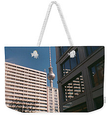 Downtown Berlin Weekender Tote Bag
