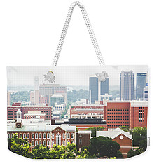 Weekender Tote Bag featuring the photograph Downtown Birmingham - The Magic City by Shelby Young