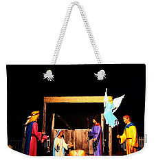 Downtown Breckenridge Nativity Weekender Tote Bag