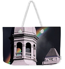 Downtown Buildings Weekender Tote Bag