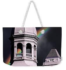 Downtown Buildings Weekender Tote Bag