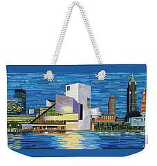 Downtown Cleveland Skyline  Weekender Tote Bag