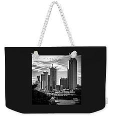 Downtown Dallas In Bw Weekender Tote Bag