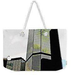 Downtown Denver Weekender Tote Bag by Tom Janca