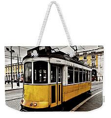 Downtown Weekender Tote Bag by Jorge Maia