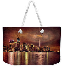 Downtown Manhattan September Eleventh Weekender Tote Bag