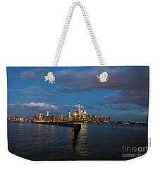 Downtown Manhattan Weekender Tote Bag