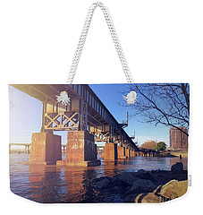 Downtown Weekender Tote Bag by Melissa Messick