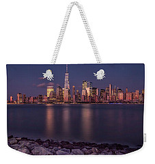 Downtown Nyc At Sunset Weekender Tote Bag