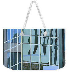 Downtown Reflections Weekender Tote Bag by Alika Kumar