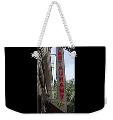 Downtown Restaurant II Weekender Tote Bag by Suzanne Gaff