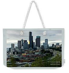 Downtown Seattle,washington Weekender Tote Bag