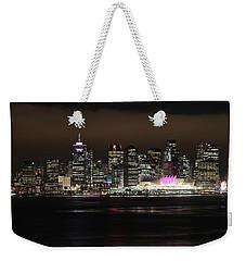 Downtown Vancouver Weekender Tote Bag