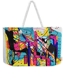 Downtown --where All The Lights Are Bright Weekender Tote Bag
