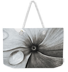 Downward Spiral Weekender Tote Bag