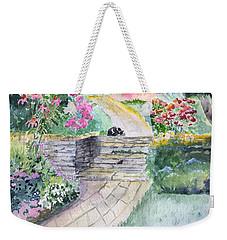Dozing Weekender Tote Bag by Christine Lathrop