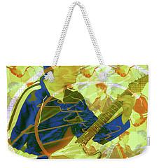 Dr. Guitar Weekender Tote Bag by Seth Weaver
