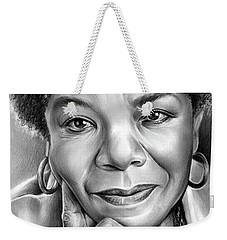 Dr Maya Angelou Weekender Tote Bag