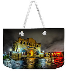 Weekender Tote Bag featuring the photograph Dr Pepper Museum by David Morefield