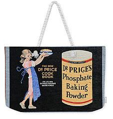 Dr. Prices Phosphate Baking Powder On Brick Weekender Tote Bag