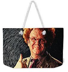 Dr. Steve Brule Weekender Tote Bag by Taylan Apukovska