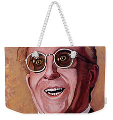 Weekender Tote Bag featuring the painting Dr. Strangelove 3 by Tom Roderick