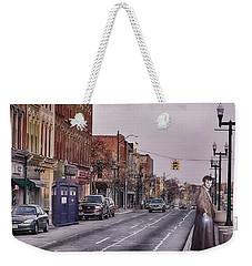 Dr Who In Ypsilanti Weekender Tote Bag