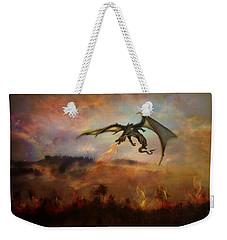 Dracarys Weekender Tote Bag by Lilia D