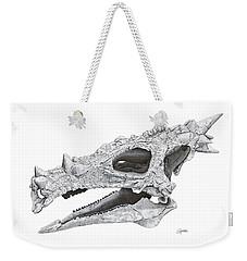 Dracorex Hogwartsia Skull Weekender Tote Bag