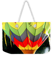 Dragging The Water   Line Weekender Tote Bag by Marie Neder