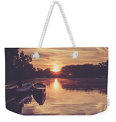 Dragon Boats Weekender Tote Bag