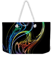 Weekender Tote Bag featuring the photograph Dragon Dance by Mark Blauhoefer