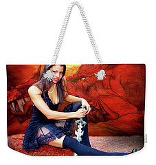 Dragon Dawn Weekender Tote Bag