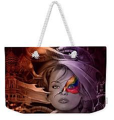Dragon Dreams Weekender Tote Bag by Kathy Kelly