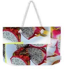 Dragon Fruit Collage Weekender Tote Bag