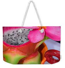 Dragon Fruit Weekender Tote Bag