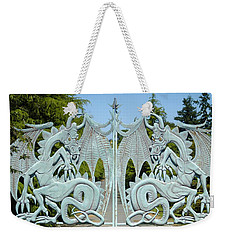Dragon Gate Weekender Tote Bag by Lori Seaman