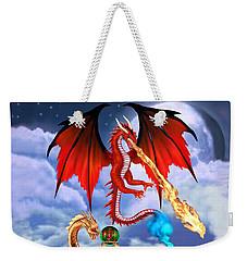 Dragon Genie Weekender Tote Bag