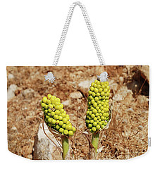Dragon Lily Plants On Halki Weekender Tote Bag
