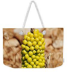 Dragon Lily Seed Head In Halki Weekender Tote Bag