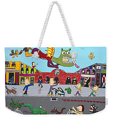 Dragon Man Weekender Tote Bag