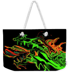 Dragon Weekender Tote Bag
