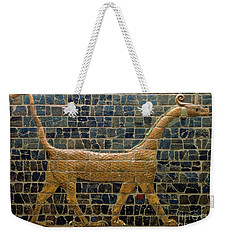 Dragon Of Marduk - On The Ishtar Gate Weekender Tote Bag