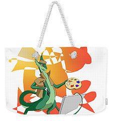 Dragon Painter Weekender Tote Bag