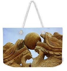 Dragon Sculpture Weekender Tote Bag