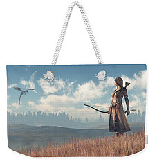 Dragon Sighting Weekender Tote Bag