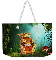 Dragon Tales Weekender Tote Bag