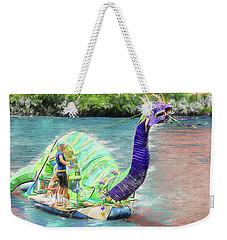 Dragon The Line Weekender Tote Bag