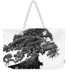 Weekender Tote Bag featuring the drawing Dragon Tree by Stanley Morrison